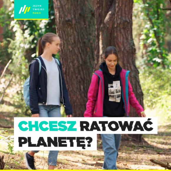 Niemcy kuszą młodych ekologów Kariera, LIFESTYLE - Nikt nie ma wątpliwości, że w dzisiejszych czasach temat ekologii i dbania o środowisko naturalne jest niezwykle istotny dla każdego. W sieci właśnie pojawił się spot, w którym pasjonatka przyrody dowiaduje się, że jej przyszłość może wiązać się z językiem niemieckim.