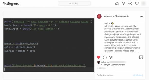 Python kusi Polaków: uczymy się programować Kariera, LIFESTYLE - Co łączy tłumacza, artystkę, dziennikarkę, logistyka i studentkę szkoły filmowej? Coraz częściej ludzie nie mający nic wspólnego z programowaniem, decydują się na jego naukę.